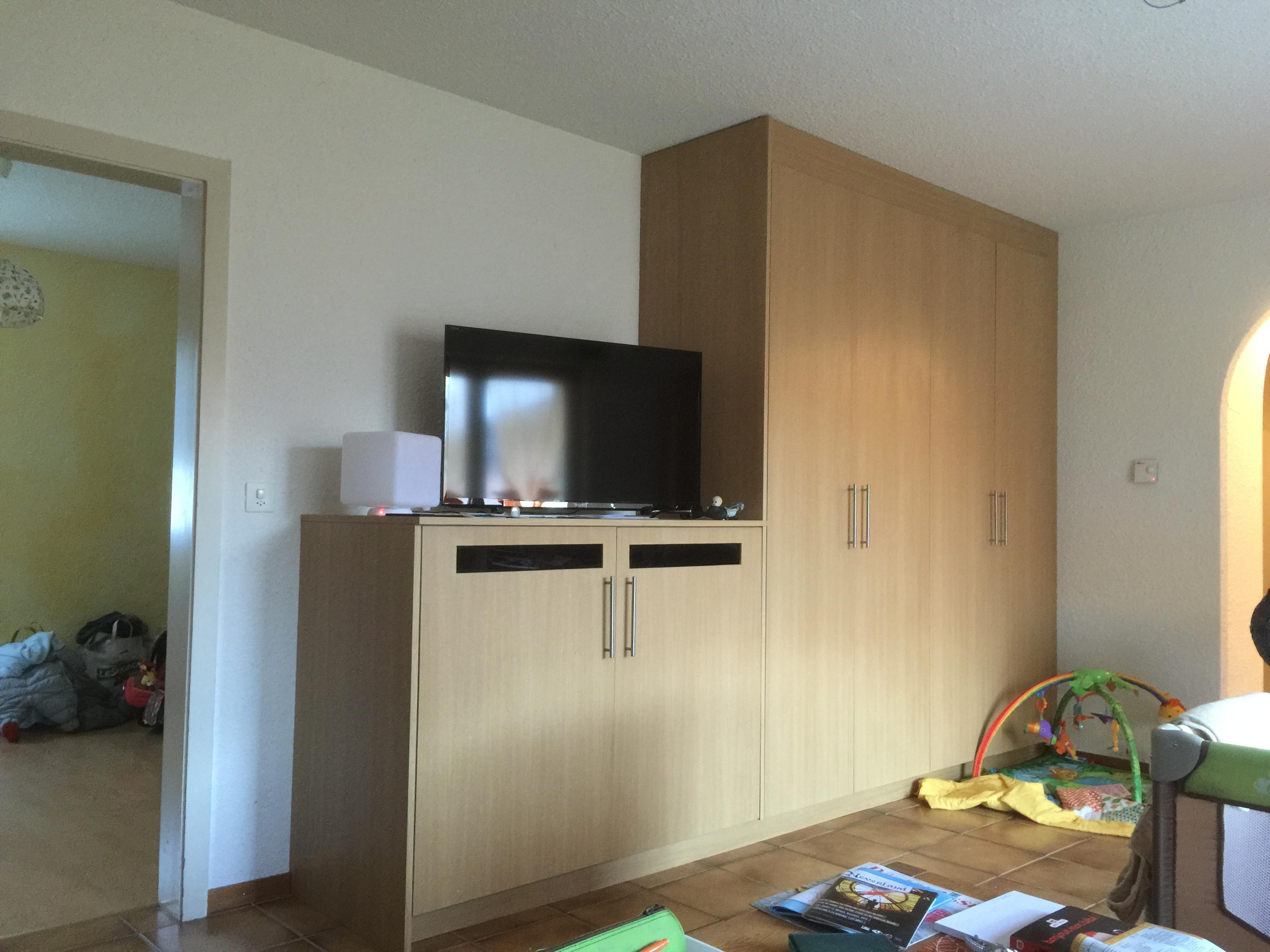 Atelier Jv Bois Fabrication D Un Meuble Tv Armoire 10